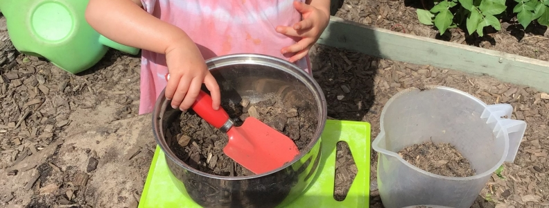 Mud Pie Making